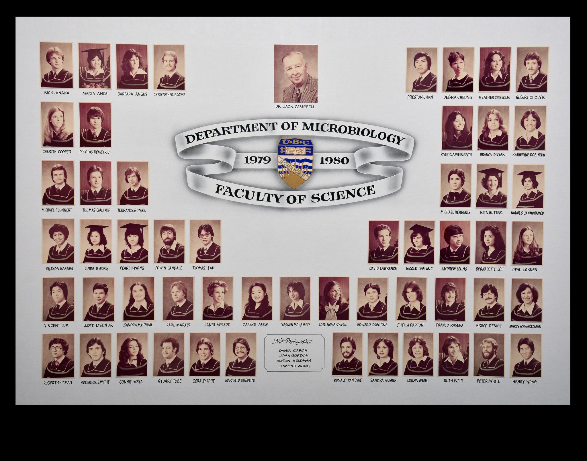 Graduating Class of 1979-1980