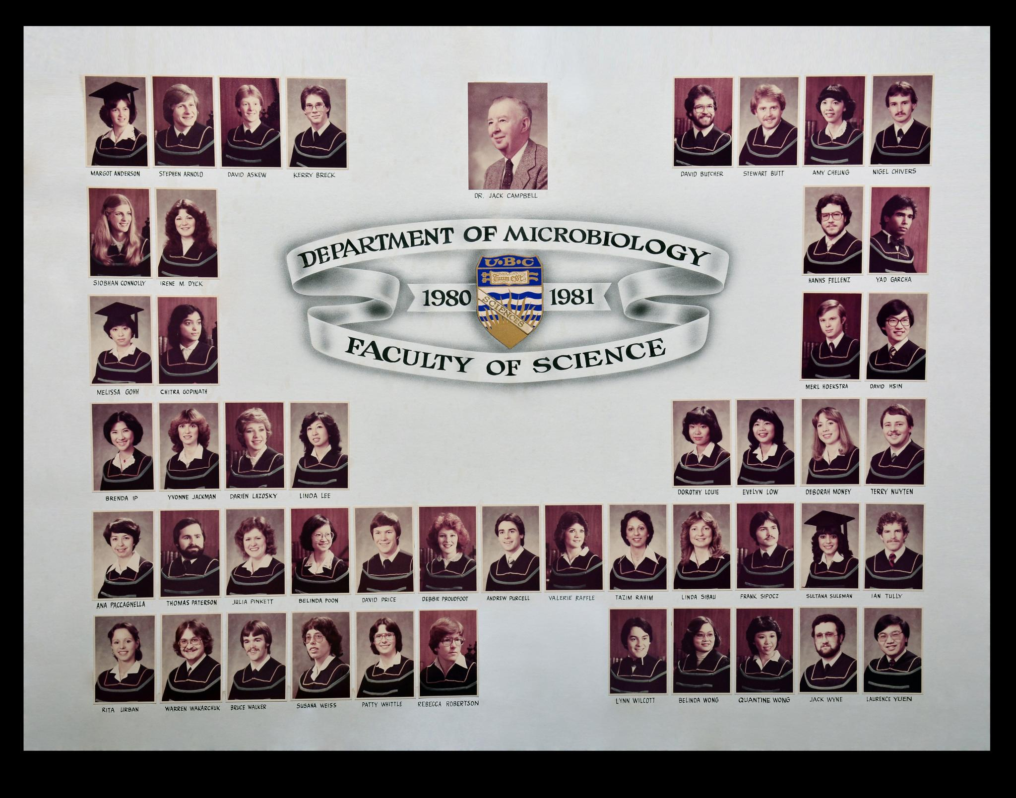 Graduating Class of 1980-1981
