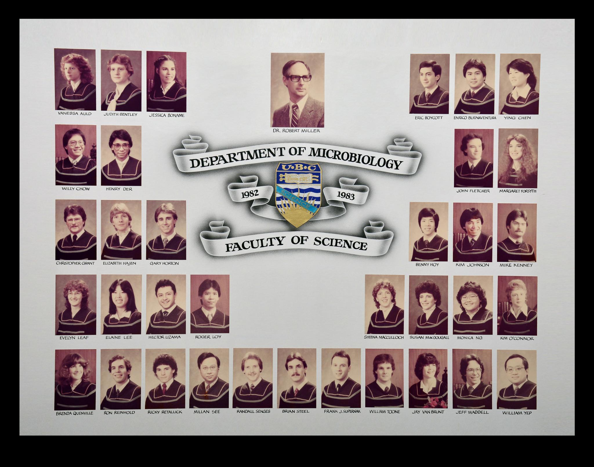 Graduating Class of 1982-1983