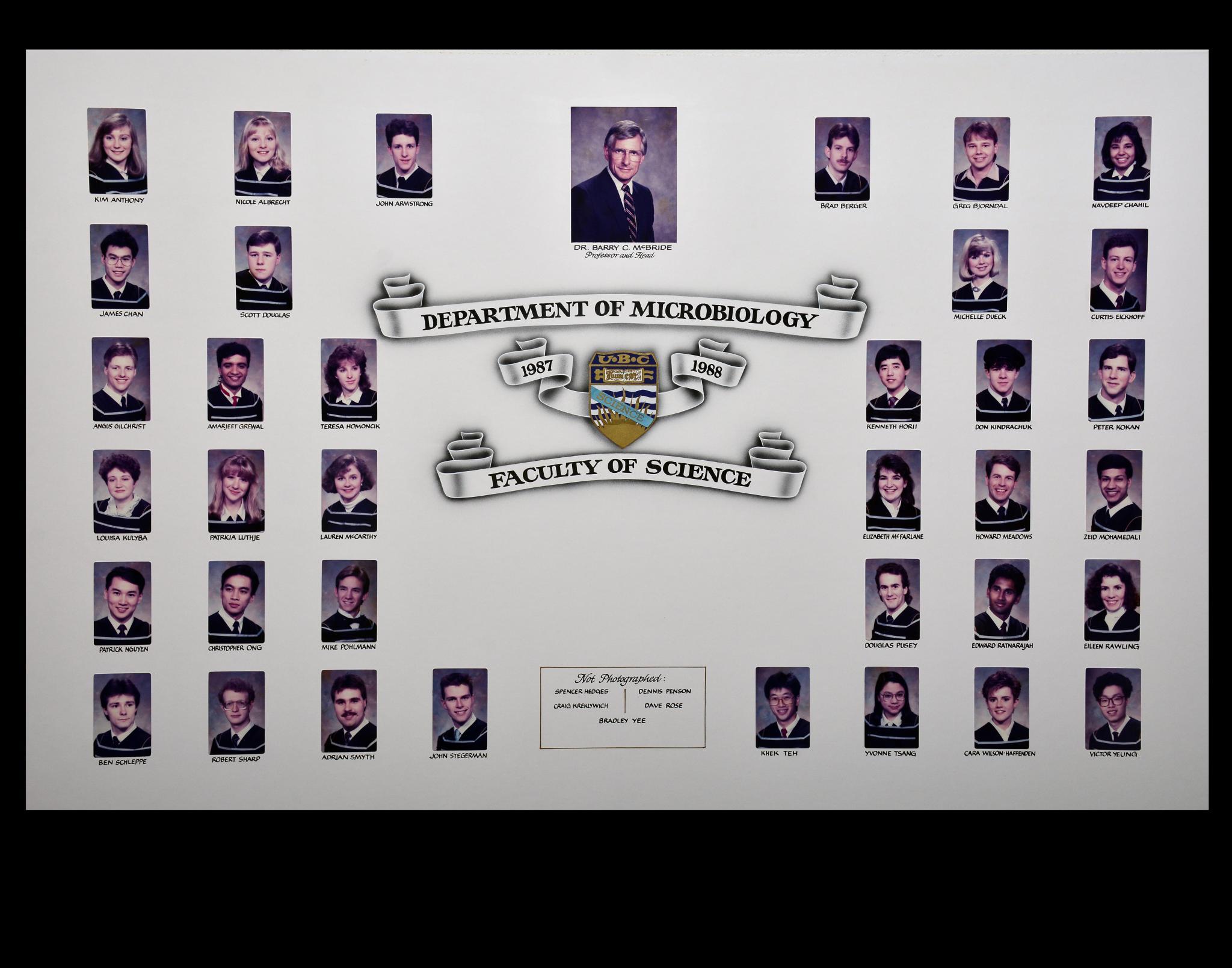 Graduating Class of 1987-1988