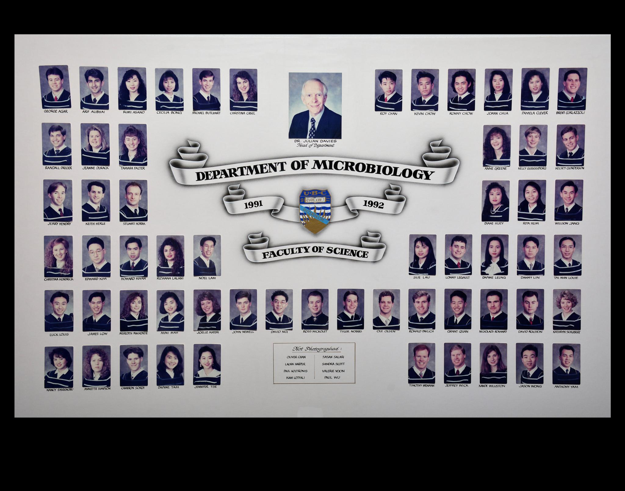 Graduating Class of 1991-1992