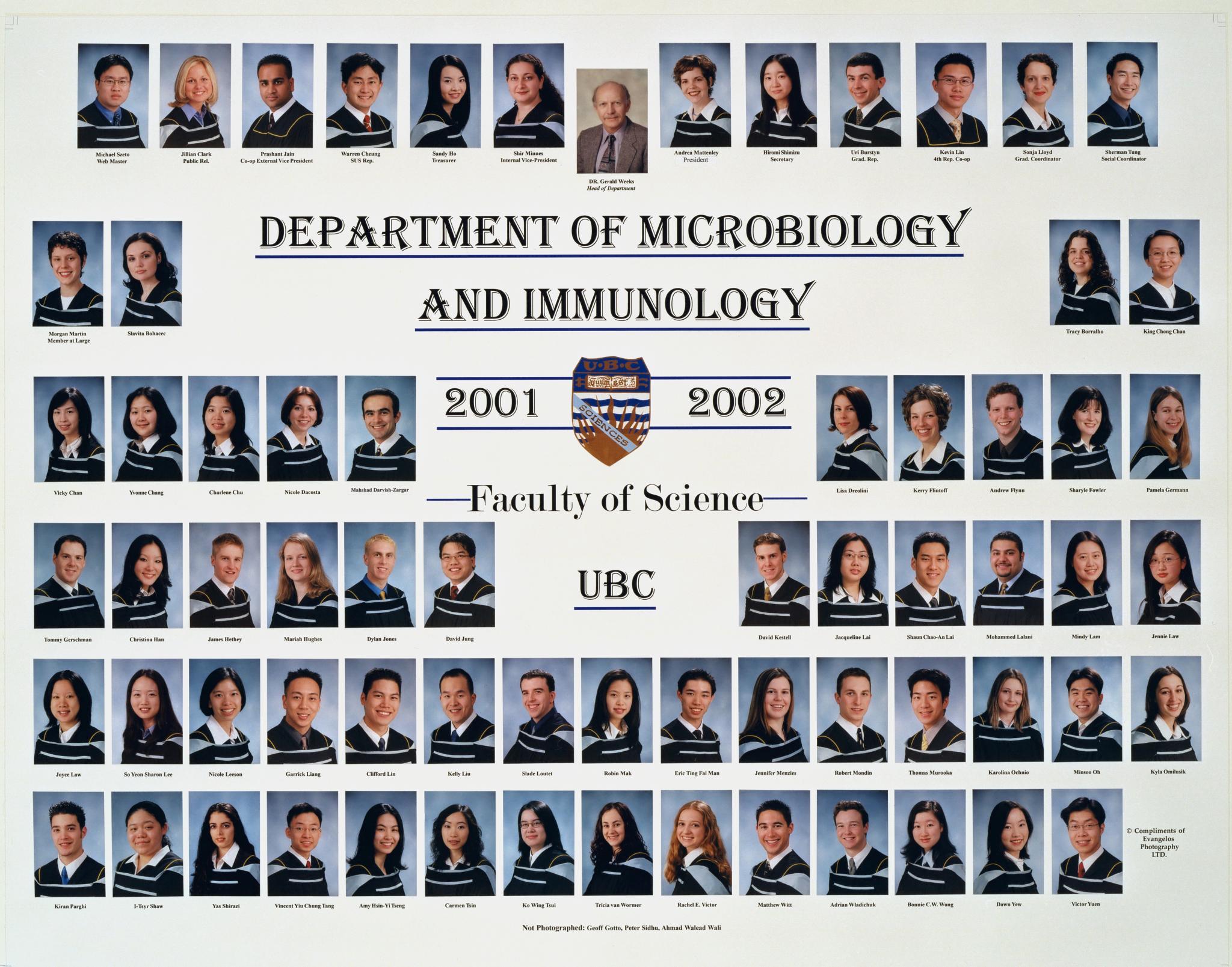 Graduating Class of 2001-2002
